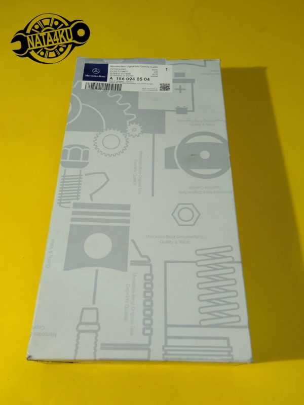 Фильтр воздушный Mercedes m156 w204/r230/w212 2006 > A1560940504 Mercedes
