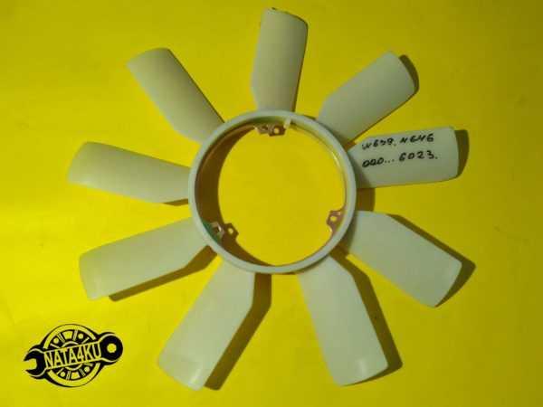 Крыльчатка вентилятора охлаждение om646/651 Mercedes  vito w639 2003 > 0219220 Trucktec