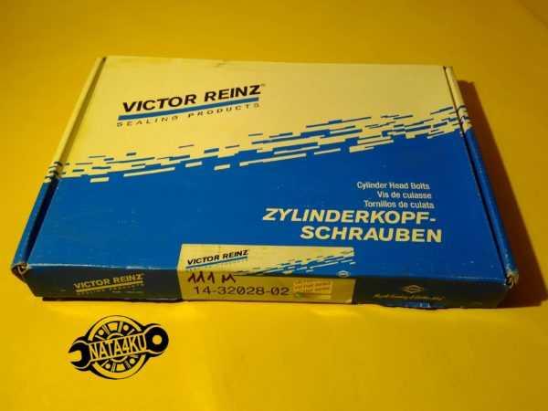 Болт ГБЦ комплект Mercedes m111 w210/w163/c208 /w124/638 1992 - 2006 143202802 Reinz