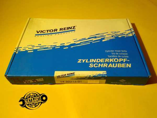 Болт ГБЦ комплект Mercedes m266 w169/w245 2004 - 2012 143221301 Reinz