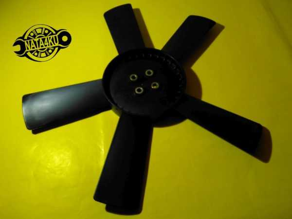 Крыльчатка вентилятора охлаждения Mercedes om615-616 w123 1976 - 1985 501323F1 Polcar