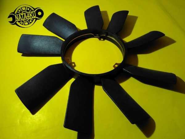 Крыльчатка вентилятора охлаждения Mercedes om601/602/111 w202/w124/r170 1984 - 2001  D9M009TT Thermotec