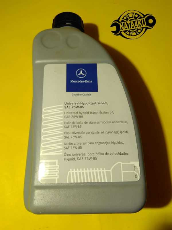 Масло трансмиссии 1л A001989330312 Mercedes