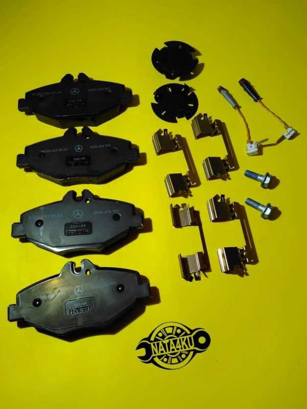 Колодки тормозные передние дисковые Mercedes w211/s211/s210 1999 - 2009 A0034209920 Mercedes