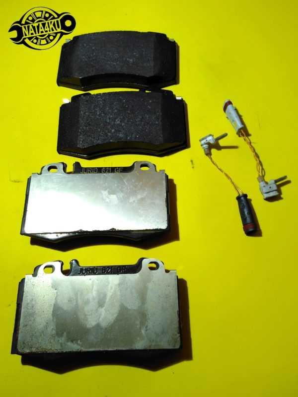Колодки тормозные передние дисковые Mercedes w211/w203/w220 /r230 A0034205820 Mercedes