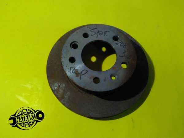 Диск тормозной передний Mercedes sprinter 901/903/904 370300 Kager