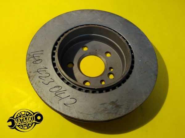 Диск тормозной задний Mercedes w140/c140/w220 1991 - 2005 A1404230412 Mercedes