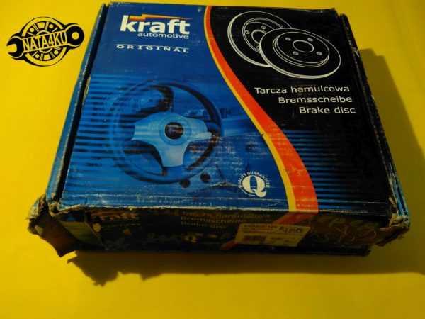 Диск тормозной передний Mercedes w202 1993 - 2000 6041120 Kraft