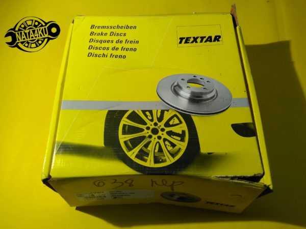 Диск тормозной передний Mercedes vito 638 1996 - 2003 92074403 Textar