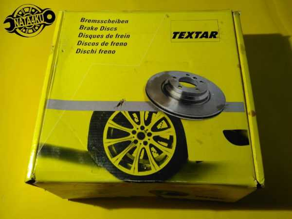 Диск тормозной задний Mercedes vito 638 1996 - 2003 92074503 Textar