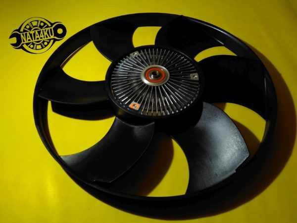 Вентилятор радиатора с вискомуфтой Mercedes sprinter 901/903/906 LKK038 Beru