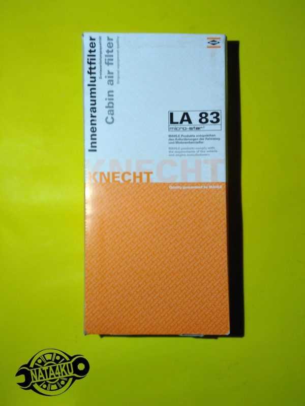 Фильтр салона Mercedes sprinter 901/902/903 /904 1995 - 2006 LA83 Knecht