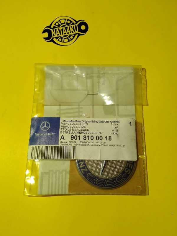 Эмблема капота Mercedes sprinter 901/902/903 /vito 638 1995 > A9018100018 Mercedes