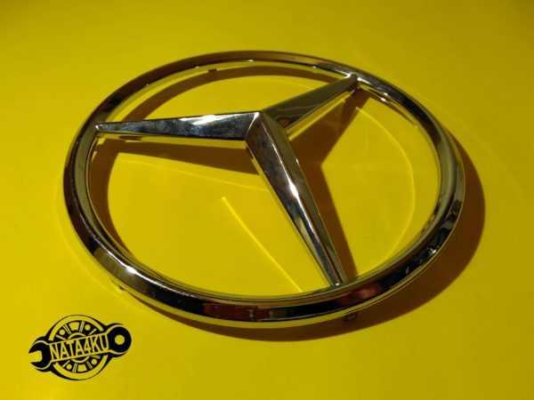 Эмблема решетки Mercedes sprinter tdi 906 2006 >