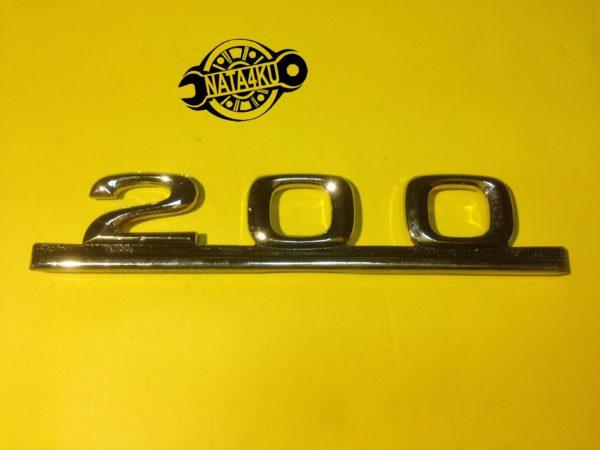 Эмблема 200 на крышку багажника Mercedes w123