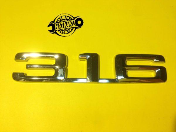 Эмблема 316 на крышку багажника Bmw