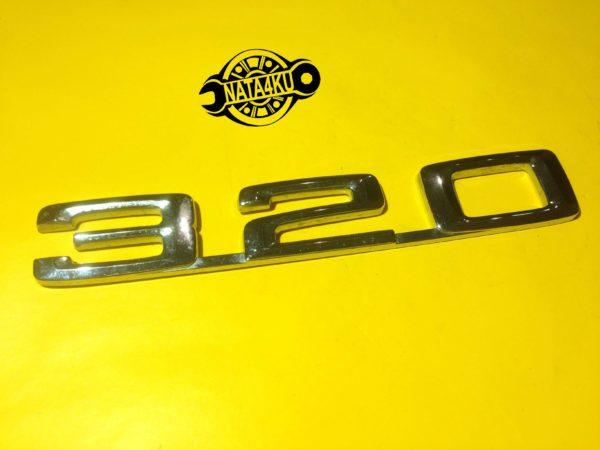 """Эмблема """"320"""" на крышку багажника Mercedes w124"""