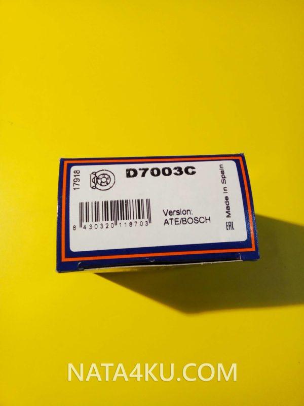Ремкомплект переднего суппорта Mercedes Audi Opel Bmw VW Skoda Seat D7003C Autofren
